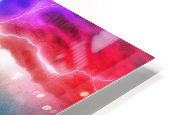 The Tesla Conduit HD Sublimation Metal print