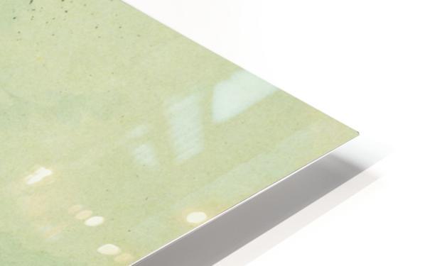 Dodging an Arrow HD Sublimation Metal print