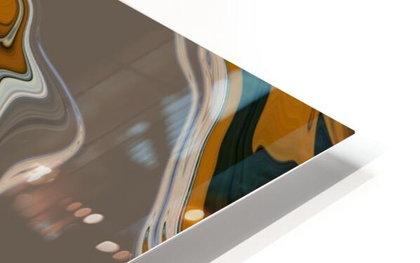 Reflection in Chrome HD Sublimation Metal print
