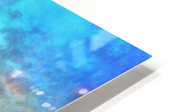 The Benevolent Light HD Sublimation Metal print