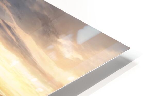Landscape with river 1 HD Sublimation Metal print