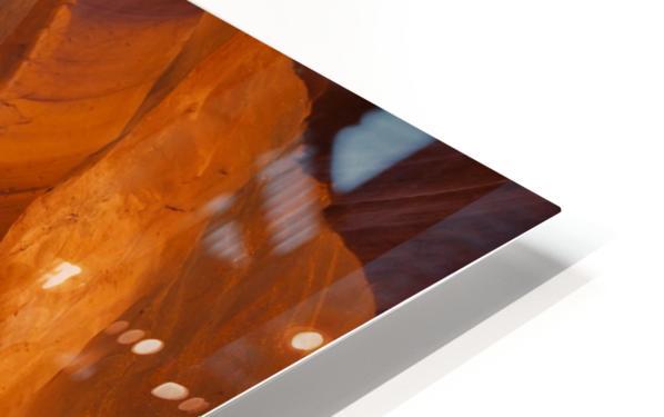 Beautiful Antelope Canyon Panoramic View HD Sublimation Metal print