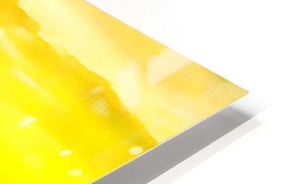 orange yellow HD Sublimation Metal print