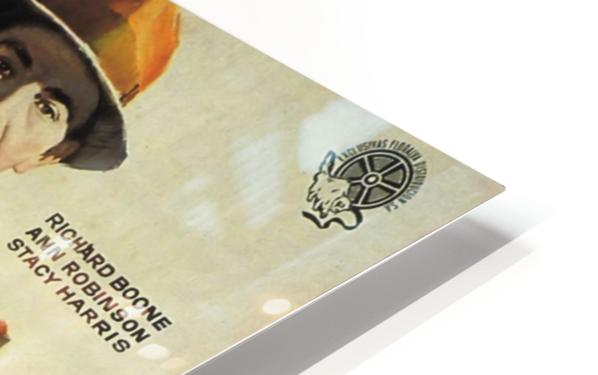 Film Noir Poster - Dragnet HD Sublimation Metal print