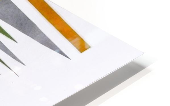 tetris number 4 HD Sublimation Metal print
