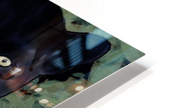 Black Jaguar. Clayton T HD Sublimation Metal print
