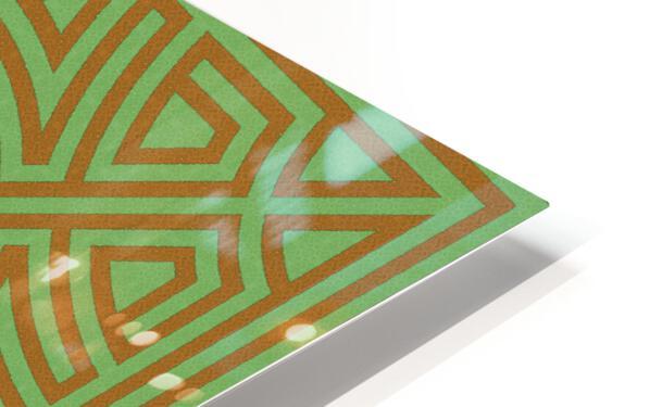 Labyrinth 6001 HD Sublimation Metal print