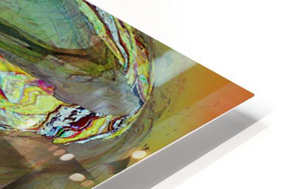 Mandalii HD Sublimation Metal print