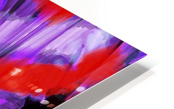 Purple Explorer HD Sublimation Metal print