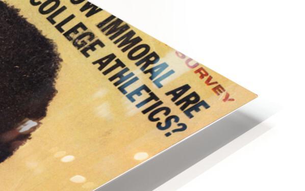 1964 Sport Magazine Muhammad Ali Cover HD Sublimation Metal print