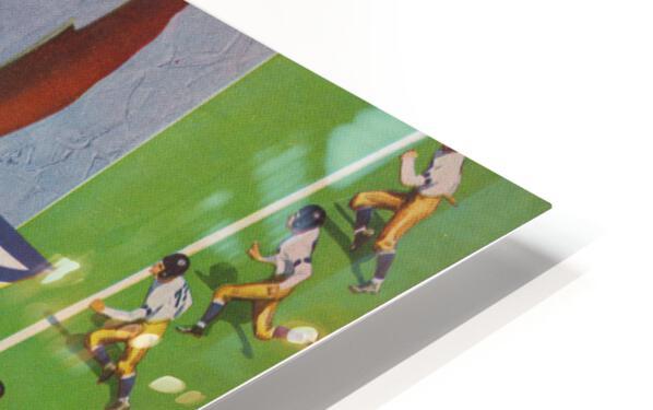 1941 Philadelphia Eagles vs. Giants HD Sublimation Metal print