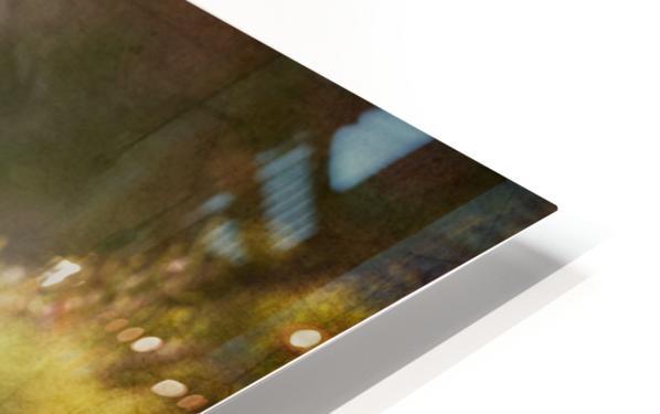 Male Pine Grosbeak HD Sublimation Metal print