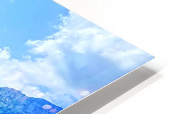 Snapshot in Time Walensee - Lake Walen Switzerland 3 of 3 HD Sublimation Metal print