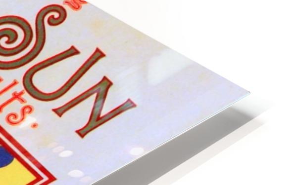 The Sun HD Sublimation Metal print