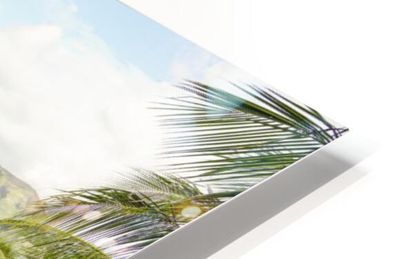 Welcome to Paradise   Kauai Hawaii HD Sublimation Metal print
