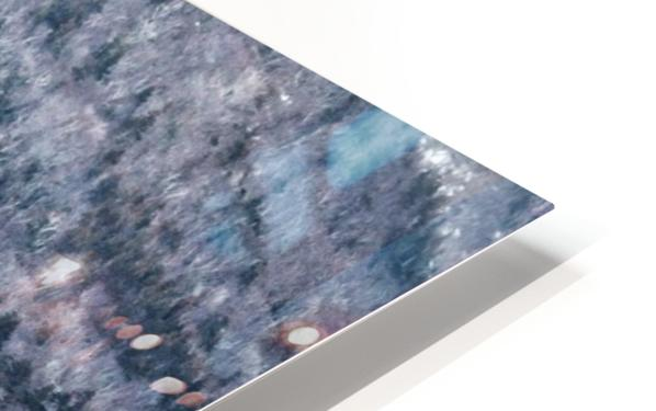 Mountain Moving HD Sublimation Metal print