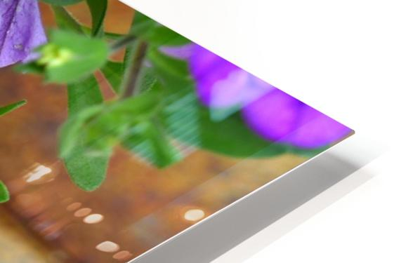 Purple Petals HD Sublimation Metal print