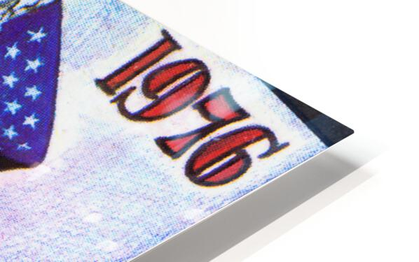 1976 Arkansas Razorbacks Ticket Stub Art HD Sublimation Metal print