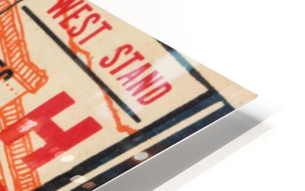 1946 Colorado College Tigers  vs. Colorado A&M Aggies HD Sublimation Metal print