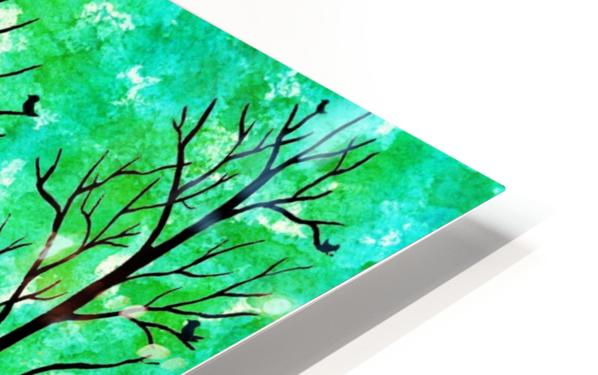Spring Forest HD Sublimation Metal print