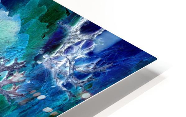 Lunar neuronal essence HD Sublimation Metal print