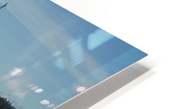 Baynes Sound HD Sublimation Metal print