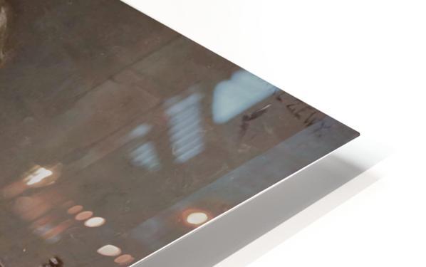 Eine unangenehme Nachricht HD Sublimation Metal print
