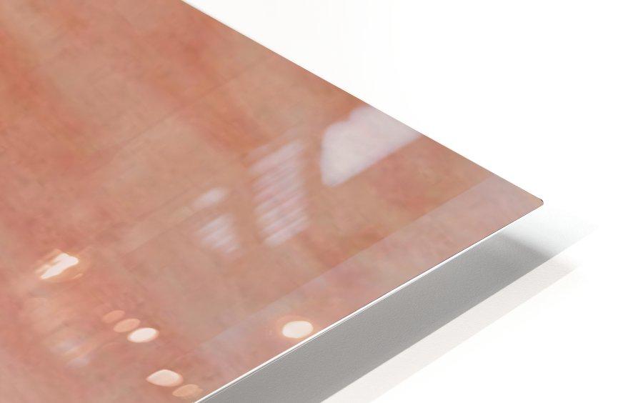 Red landscape HD Sublimation Metal print