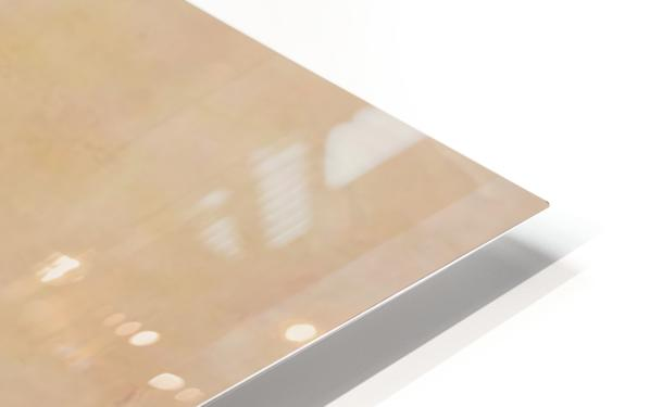 The enlightened sealing corner HD Sublimation Metal print