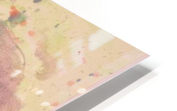 Untitled 1 (Joan Miro tribute) HD Sublimation Metal print