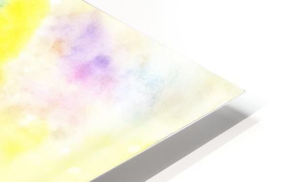 Flower jerb HD Sublimation Metal print