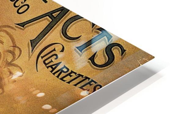 Vintage Cigarette Poster 1890 HD Sublimation Metal print