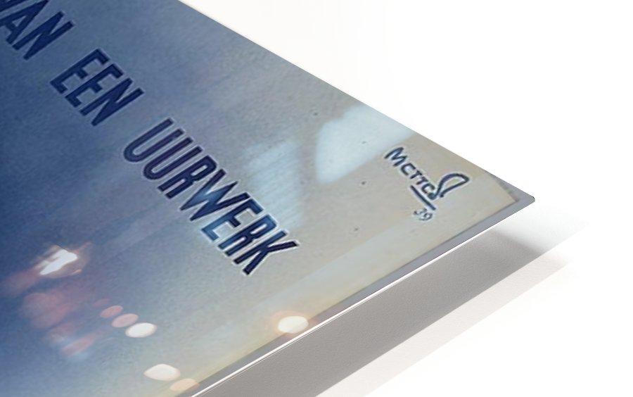 Nederlandse Spoorwegen Poster HD Sublimation Metal print