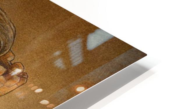 gate HD Sublimation Metal print