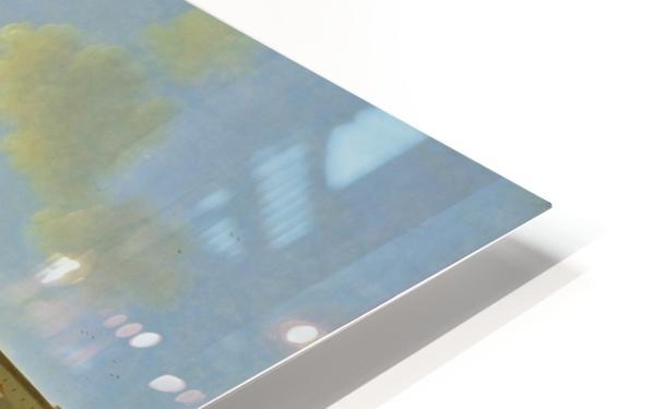 De golf van Napels met op de achtergrond het eiland Ischia HD Sublimation Metal print