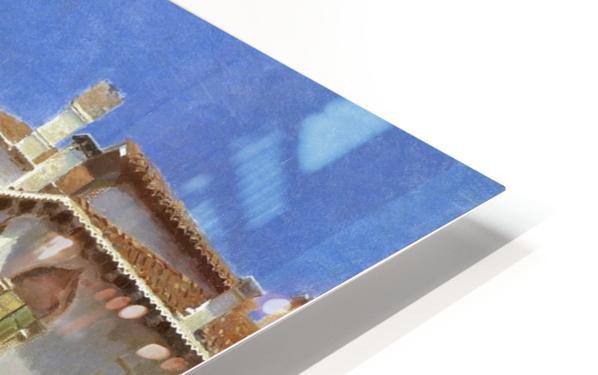 Canale della Guerra, Venice HD Sublimation Metal print