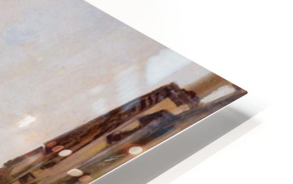 Gondola On a Venetian Canal HD Sublimation Metal print