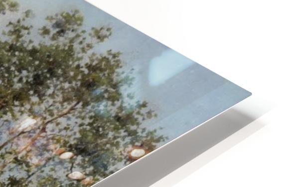 Venetian Canal HD Sublimation Metal print