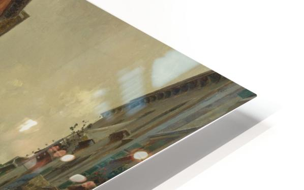 A quiet canal Impression de sublimation métal HD