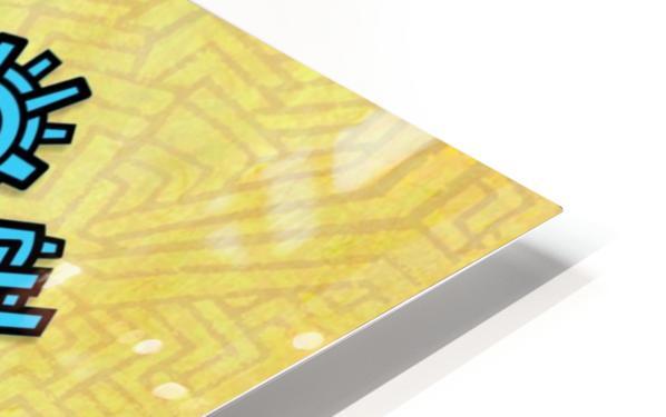 TOM RECLINING HD Sublimation Metal print