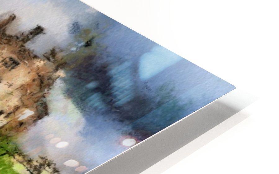 RIPLEY CASTLE 2 HD Sublimation Metal print