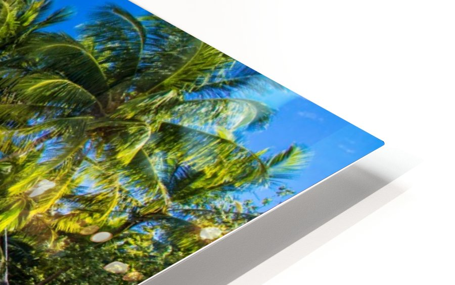 Amazing beach in Maldives, summer travel HD Sublimation Metal print
