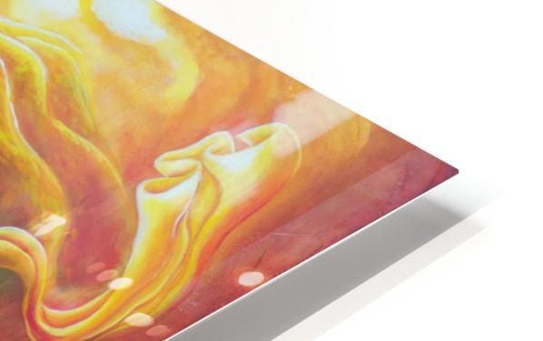 Dragon's eye view HD Sublimation Metal print