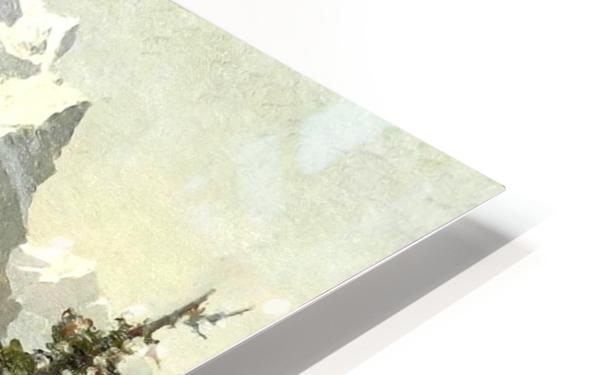 Snowcaps HD Sublimation Metal print