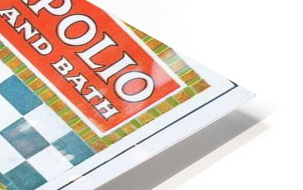 Sapolio Soap advertising poster HD Sublimation Metal print