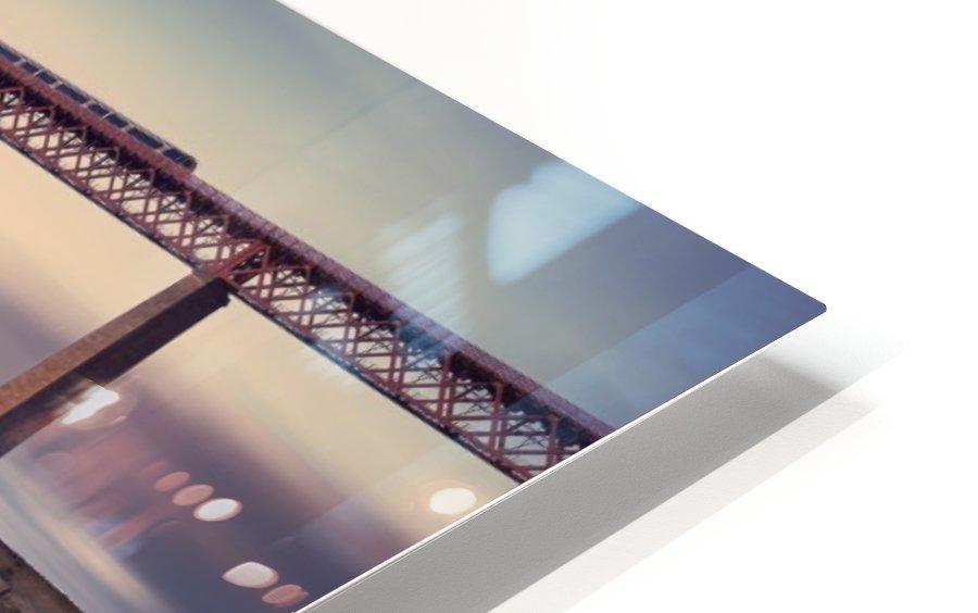 Forth Rail Bridge HD Sublimation Metal print