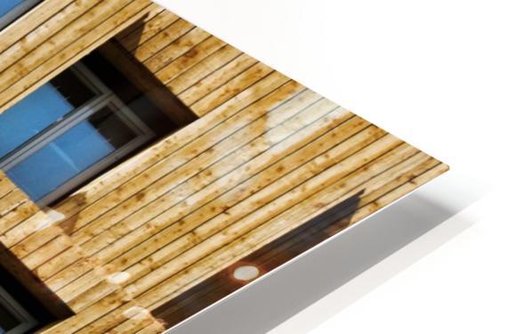 Little boxes HD Sublimation Metal print
