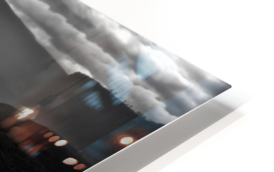Gullfoss HD Sublimation Metal print