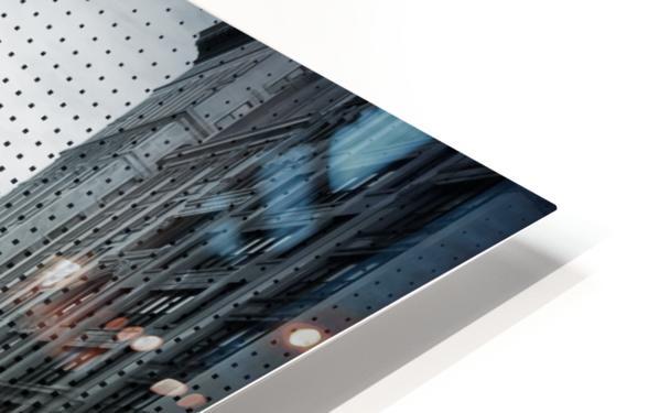Graphic Art NYC 5th Avenue Traffic V HD Sublimation Metal print
