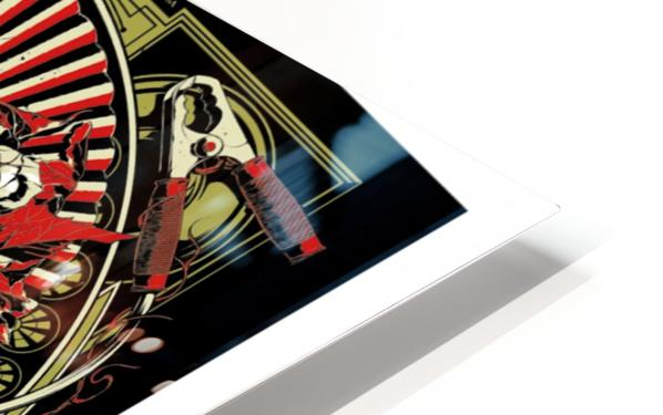 The Black Keys HD Sublimation Metal print